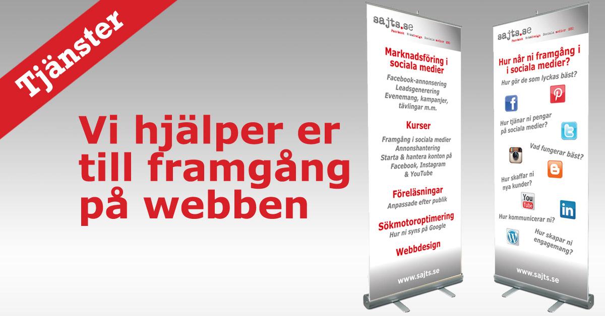 sajts.se - våra tjänster