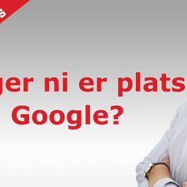 Äger ni er plats på Google My Business?