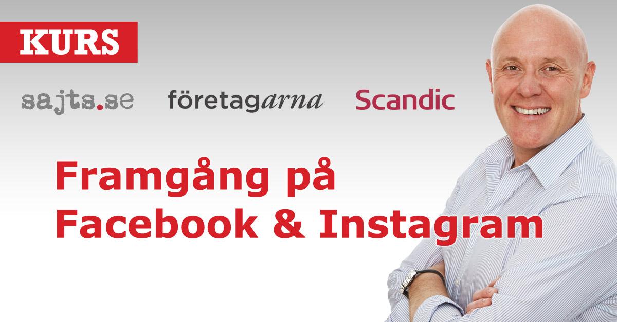 Kurs- Framgång på Facebook & Instagram