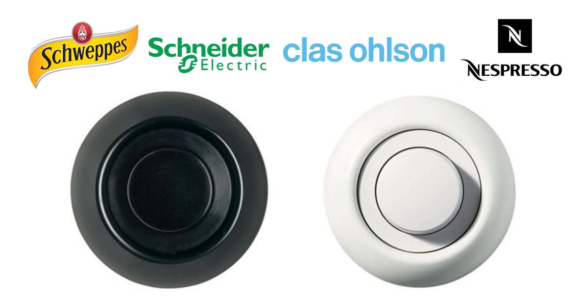 Kundomdömen är de mest användbara betygen - Schweppes | Schneider | Clas Ohlson | Nespresso